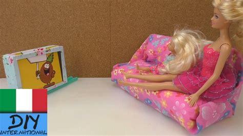 Diy Costruire Tv Parete Per Barbie (tv Per Barbie Fai Da