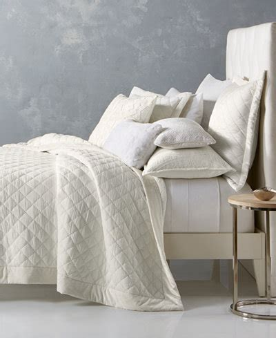 Hotel Collection Coverlet King by Hotel Collection Trousseau Cotton Quilted King Coverlet