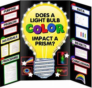 Light Bulb Science Project Materials