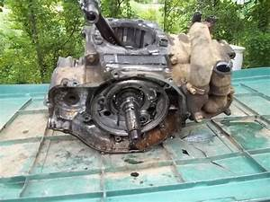 1995 Polaris Magnum 425 4wd Engine Motor Bottom Half Crank