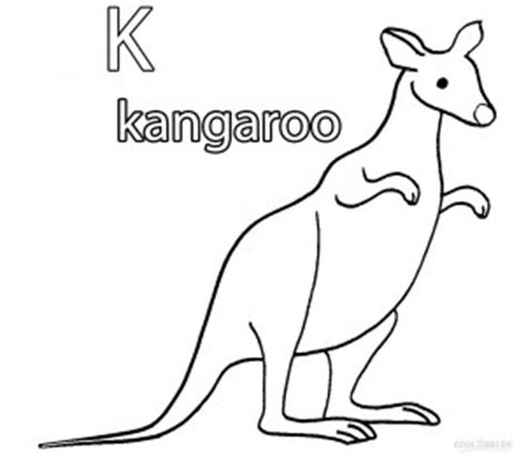printable kangaroo coloring pages  kids coolbkids