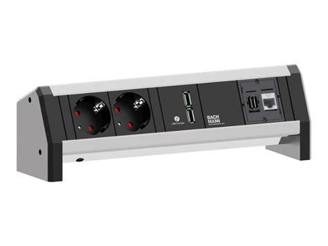 bachmann desk 2 bachmann desk 1 2x power socket 1x usb charger 1x hdmi 1x cat6 902 01821 buy bachmann desk1