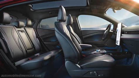 ford mustang mach  dimensions  boot space electric