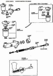 Fj40 Fj45 Fj55 And Fj60 Clutch Master Cylinder