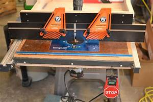 Shop Made Tools: Router Table Fence on Tool Box Buzz Tool