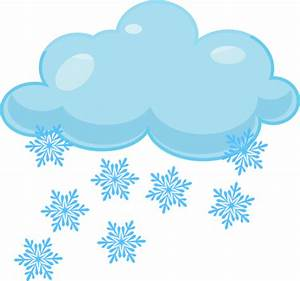 Snow clipart weather icon - Pencil and in color snow ...