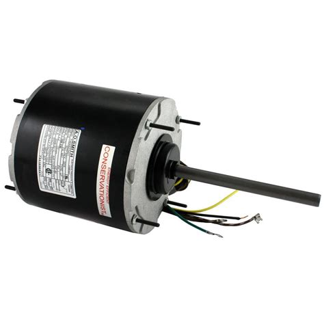 fan capacitor home depot century 1 2 hp condenser fan motor fse1056sv1 the home depot
