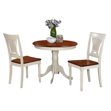 wood pedestal dining table set east west furniture antique 3 piece pedestal round dining