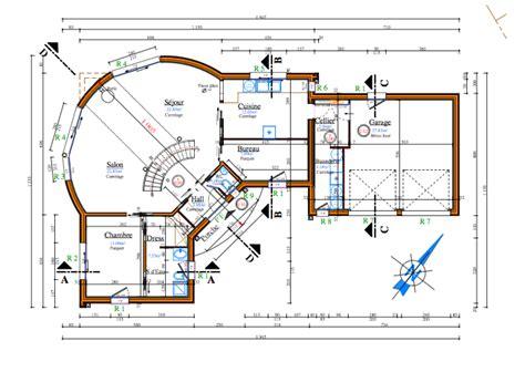 plan maison etage 4 chambres 1 bureau plan de maison a etage 5 chambres