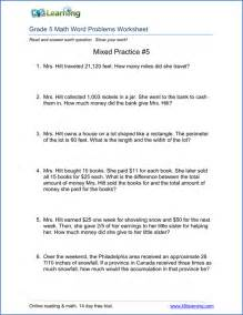 story problems grade 5th grade word problem worksheets free and printable k5 learning