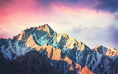 Sierra Mac Os Wallpapers Mountain Macos Apple