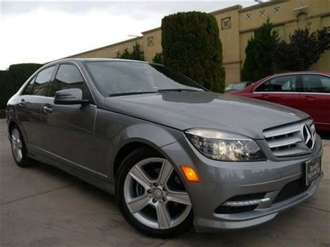 Luxury and sport versions available. 2011 Mercedes-Benz C-Class 4dr Car C300 4MATIC Sport Sedan 4D for Sale in San Jose, California ...