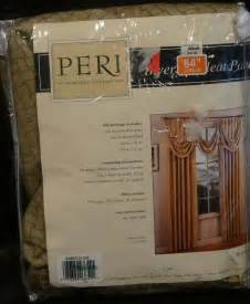 peri homeworks collection inverted pleat panel metropolis mocha 25 quot x 84 quot ebay