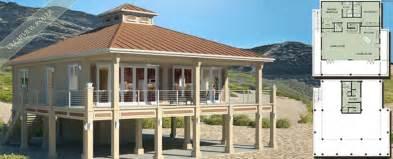 Beach House Design Beach House Plans On Piers