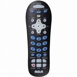 Rca Universal Remote Control Tv  Vcr  Cable Box  Rcr311bin