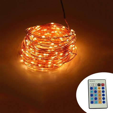 led string lights with remote ir remote control 30m 300 led outdoor christmas fairy