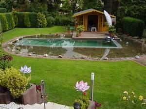 Schwimmteich Im Garten : schwimmteich planen wasser im garten bauen und wohnen in der schweiz ~ Sanjose-hotels-ca.com Haus und Dekorationen