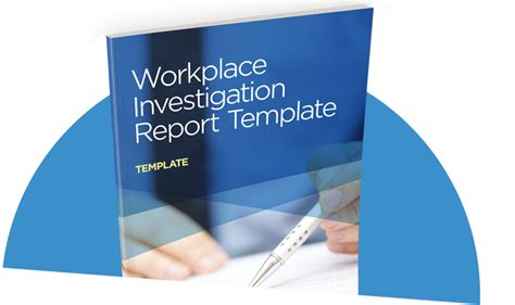 workplace investigation report template  sight