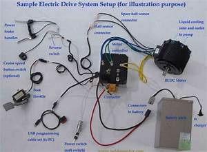 Wiring Diagram For 10kw Fan Cooling Electric Outboard Dc Motor