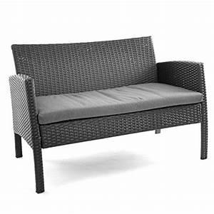 Sofa Garnitur 2 Teilig : rattanset 4tlg sitzecke mit tisch mit 2 sessel und 1 sofa ~ Whattoseeinmadrid.com Haus und Dekorationen