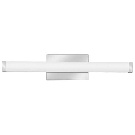 led vanity light lithonia lighting contemporary square 2 light chrome 3k