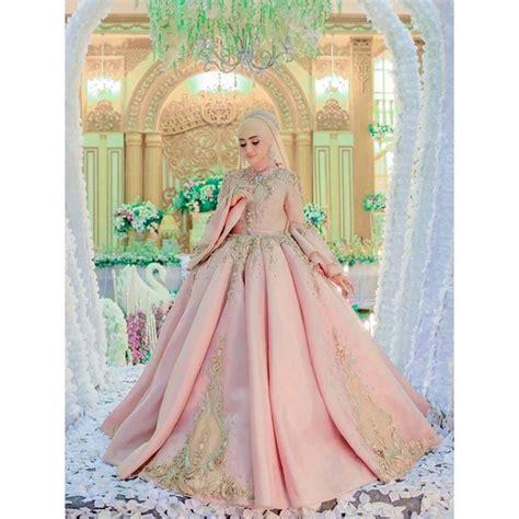 koleksi gaun pengantin muslimah terindah terbaru