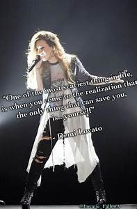 Celebrity Quotes : Demi Lovato quote – Only you can save ...