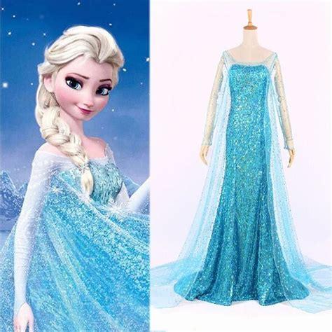 und elsa kostüm damen details zu erwachsene frozen princess elsa kost 252 m abendkleid verkleidung damen elsa