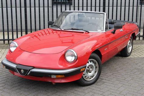 Alfa Romeo Spider Convertible by Alfa Romeo Spider Convertible 1986 Catawiki