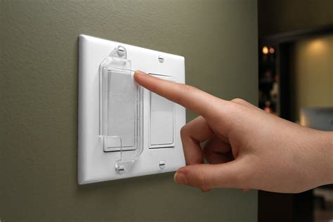 child proof light switch guard for decora rocker style light switch baby