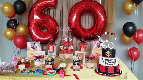 Red And Gold Nautical Theme Th  Ee  Birthday Ee  Th