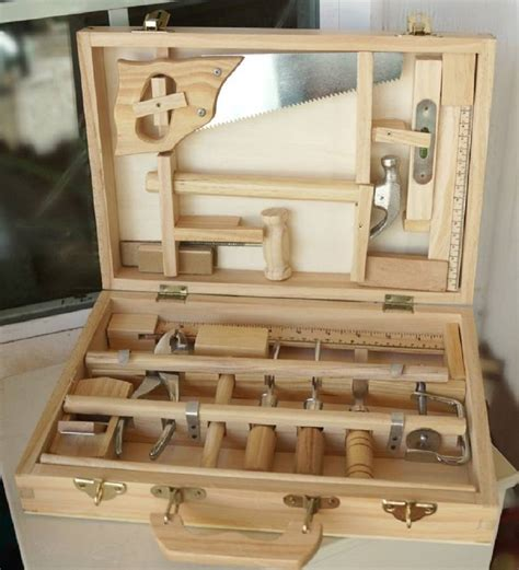 piece childs tool box  craftskids