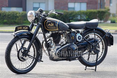 Ajs M16 'saddle Tank' 350cc Motorcycle Auctions