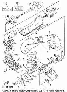 1994 Yamaha Wave Raider Engine Diagram