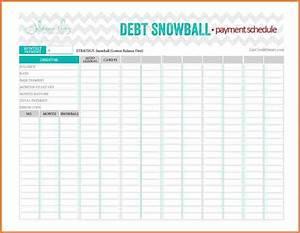 Snowball Debt Calculator Spreadsheet 8 Snowball Credit Card Payoff Spreadsheet Excel