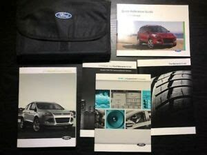 ford escape owners manual  case  sync oem