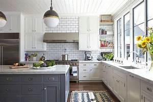 maison de charme rustique et moderne a la fois a nashville With kitchen colors with white cabinets with chemin de table papier