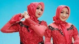 tutorial hijab  wisuda  wajah bulat hijab wajah model