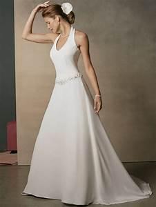 Halter Top Wedding Dresses Gallery - Wedding Dress