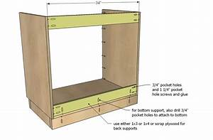 DIY Projects Kitchen Cabinet Sink Base 36 Full Overlay