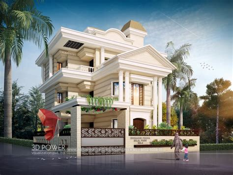 3d interior home design 3d bungalow design 3d modern bungalow rendering