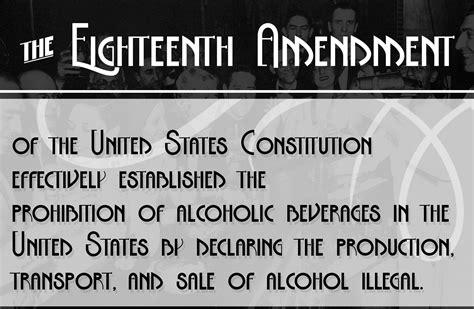 eighteenth amendment bold font designed  julia