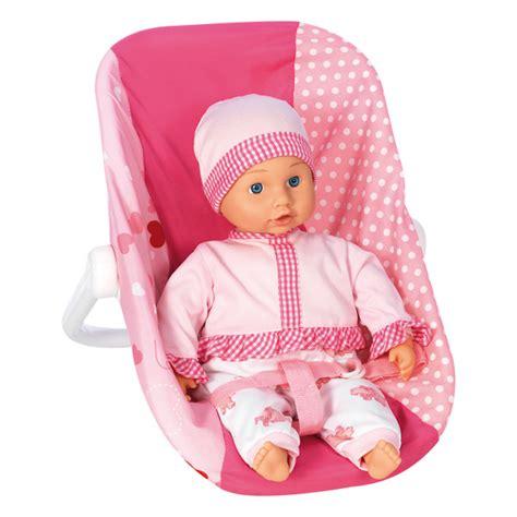 siege auto pour poupon siège auto pour poupée bebe king jouet accessoires