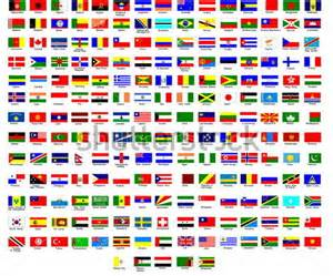 All the Flags of the World with Names