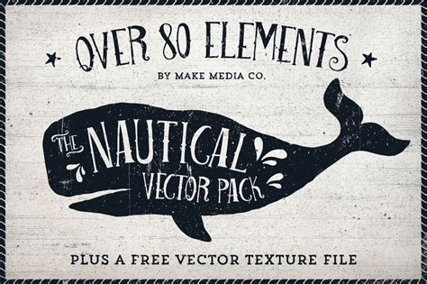 The Nautical Vector Pack  Illustrations On Creative Market