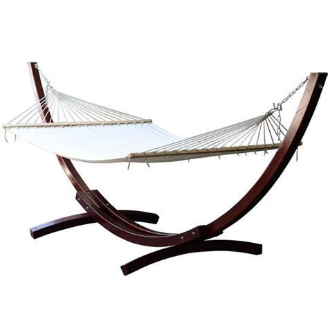 wooden hammock stand cypress wooden arc hammock stand with hammock