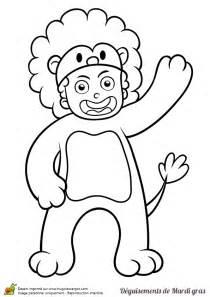 elephant cuisine dessin d un enfant déguisé en pour le mardi gras à