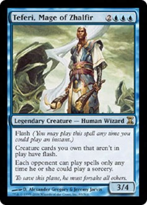 teferi commander deck upgrade primer teferi mage of zhalfir multiplayer commander
