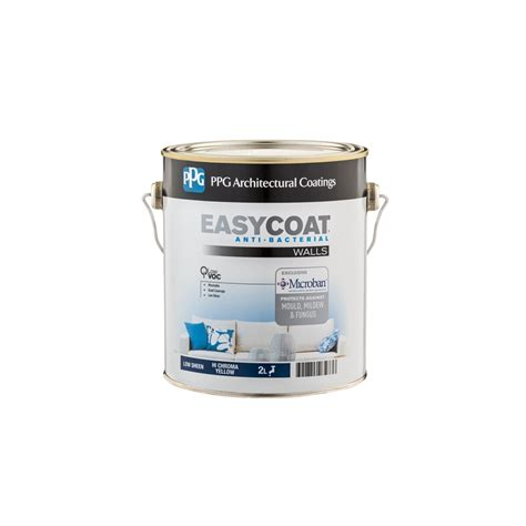 ppg interior paint ppg 2l hi chroma yellow easycoat low sheen interior paint