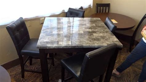 Dining Room Sets With Bench - ashley furniture maysville dining table set d154 review youtube